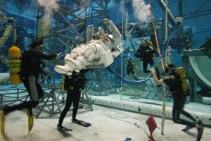 NASA dive training